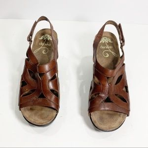 Dansko Heels in Brown